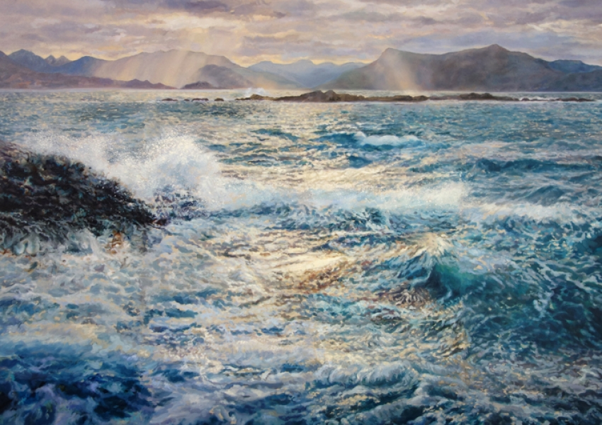 JuliaChristie_Across_the_sound_to_knoydart
